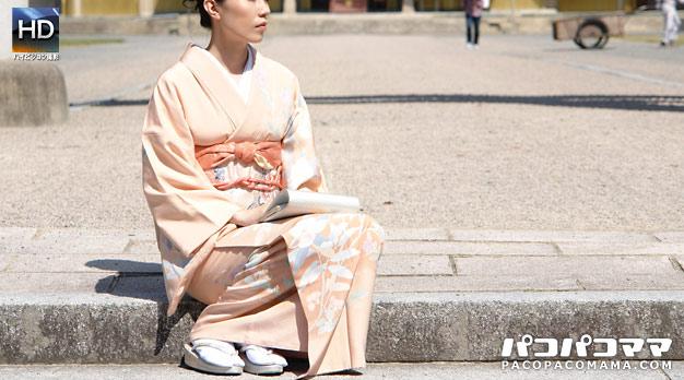 着物ナンパ ① 〜和服美人妻の下着を検証〜