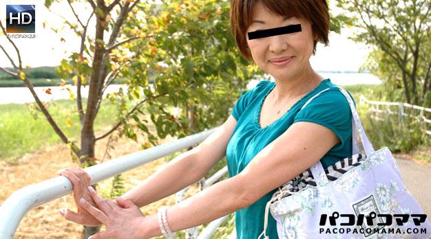 釣りが趣味の浅田美〇子似の熟女
