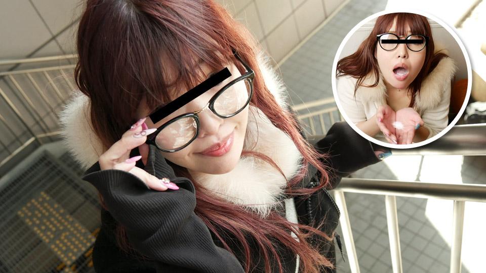 ごっくんする人妻たち100 〜メガネの似合う熟女はザーメンが大好物〜