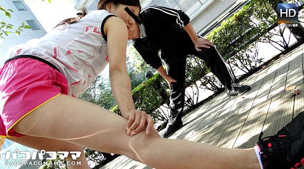 ジョギングミセス 〜美乳ランナー〜