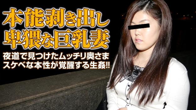 主婦を口説く 15 〜夜道で見つけた巨乳人妻をヤリ捨て〜