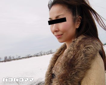 青姦雪景色